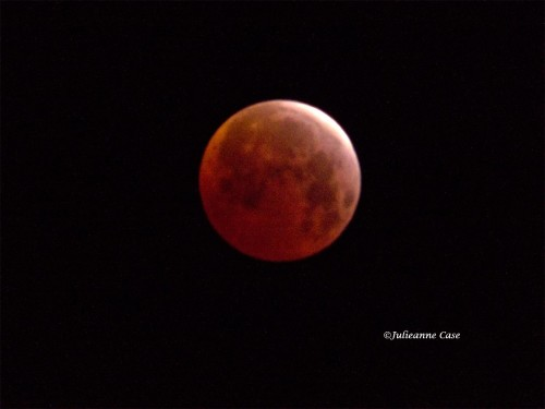 The third Blood moon in a series of 4