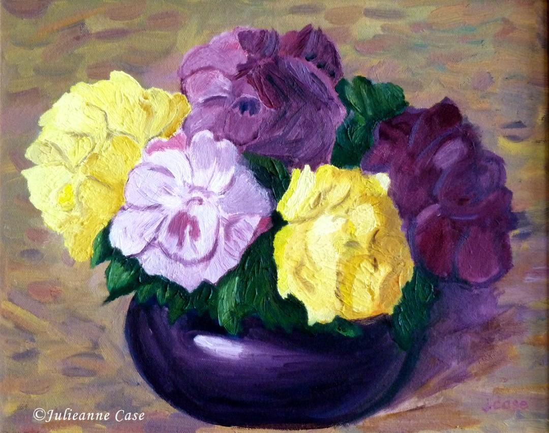 Purples N' Yellows